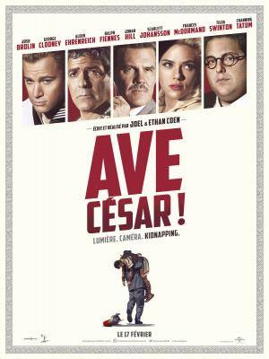 affiche du film Ave Cesar !