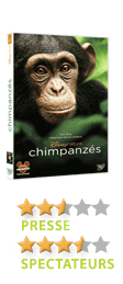 Chimpanzés de Mark Linfield et Alastair Fothergill - En DVD, Blu-Ray