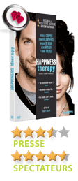 Happiness Therapy de David O. Russell - En DVD, Blu-Ray et VOD