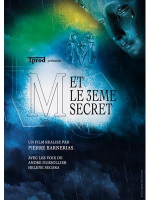 affiche du film M et le 3ème secret