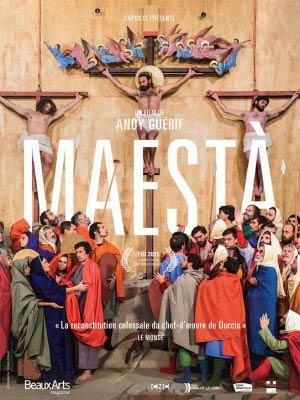 affiche du film Maesta, la Passion du Christ