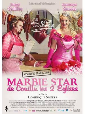affiche du film Marbie star de Couillu les 2 Églises