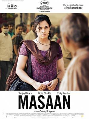 affiche du film Masaan