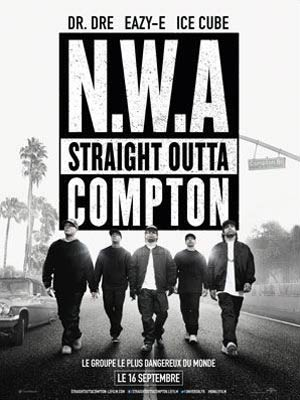 affiche du film Straight Outta Compton