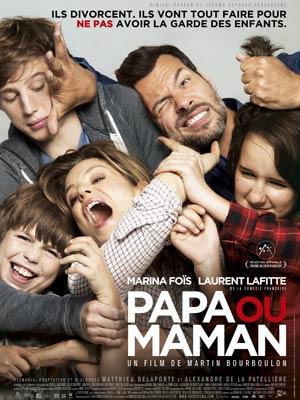 affiche du film Papa ou Maman
