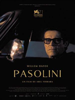 affiche du film Pasolini