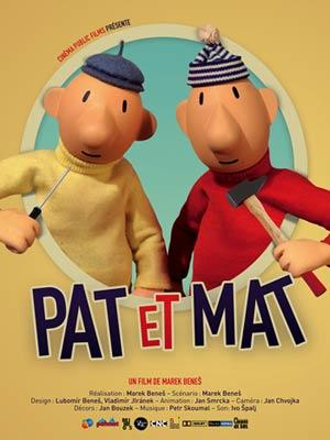 affiche du film Pat et Mat