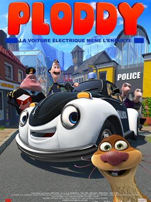 affiche du film Ploddy - La voiture électrique mène l'enquête