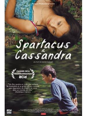 affiche du film Spartacus et Cassandra