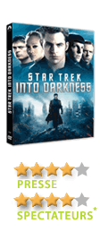 Star Trek Into Darkness de J.J. Abrams - En DVD, Blu-Ray et VOD