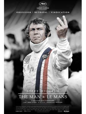 affiche du film Steve McQueen : The Man & Le Mans