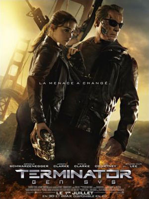 affiche du film Terminator : Genesis