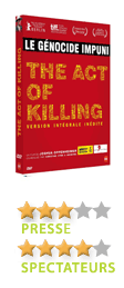 The act of Killing de Joshua Oppenheimer  - En DVD