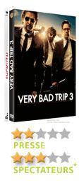 Very bad trip III de Todd Philipps - En DVD, Blu-Ray et VOD