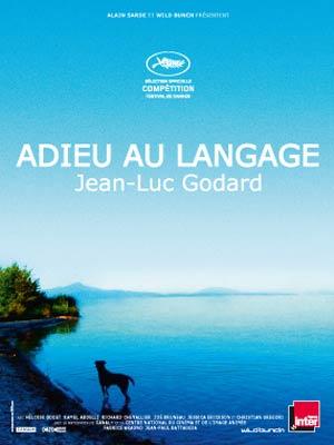 affiche du film Adieu au langage