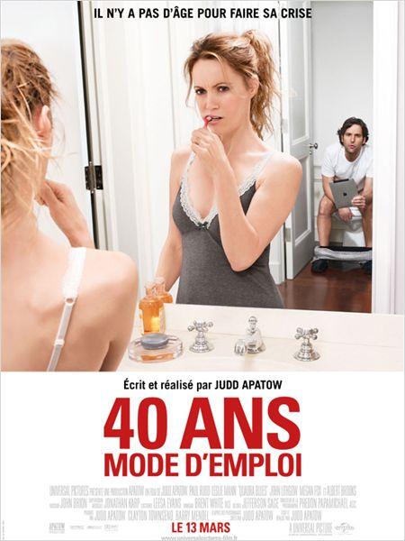 affiche du film 40 ans: mode d'emploi