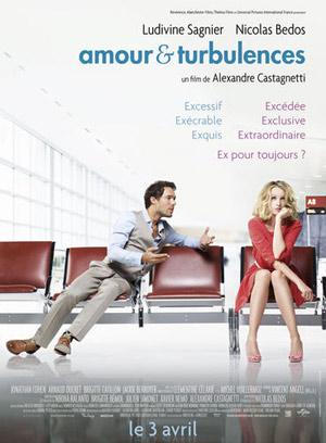 affiche du film Amour et turbulences