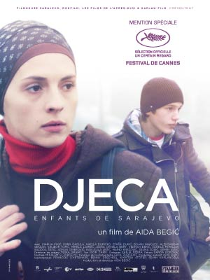 affiche du film Djeca, Enfants de Sarajevo