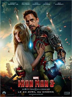 affiche du film Iron Man 3