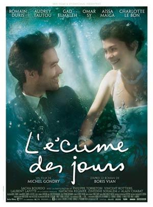affiche du film L'Ecume des jours