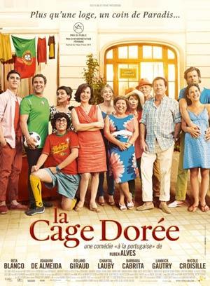 affiche du film La Cage Dorée