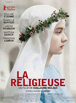 affiche du film La Religieuse