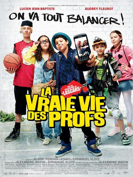 affiche du film La Vraie Vie Des Profs