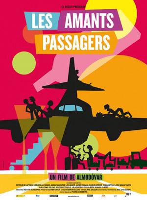affiche du film Les Amants passagers