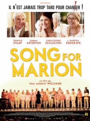 affiche du film Song for Marion