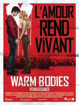 affiche du film Warm bodies - Renaissance