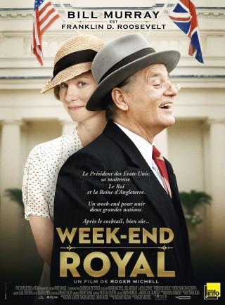 affiche du film Week-End Royal (Hyde Park On Hudson)
