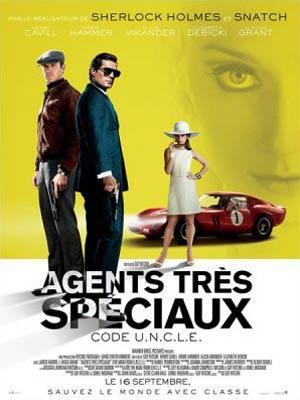 affiche du film Agents très Spéciaux - Code U.N.C.L.E (The Man from U.N.C.L.E)