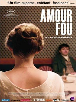 affiche du film Amour Fou