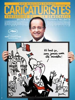 affiche du film Caricaturistes - Fantassins de la démocratie