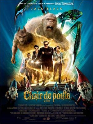 affiche du film Chair de Poule - Le Film (Goosebumps)