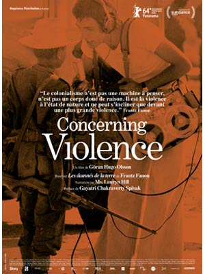affiche du film Concerning Violence
