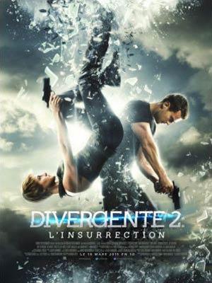 affiche du film Divergente 2 l'Insurrection