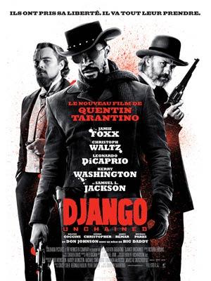 affiche du film Django - Unchained