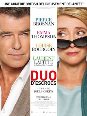 affiche du film Duo d'escrocs