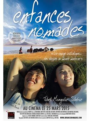 affiche du film Enfances Nomades