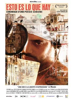 affiche du film Esto es lo que hay, chronique d'une poésie cubaine