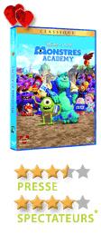 Monstre Academy de Dan Scanlon - En DVD, Blu-Ray