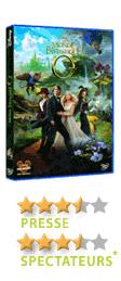 Le monde fantastique d'Oz de Sam Raimi - En DVD, Blu-Ray