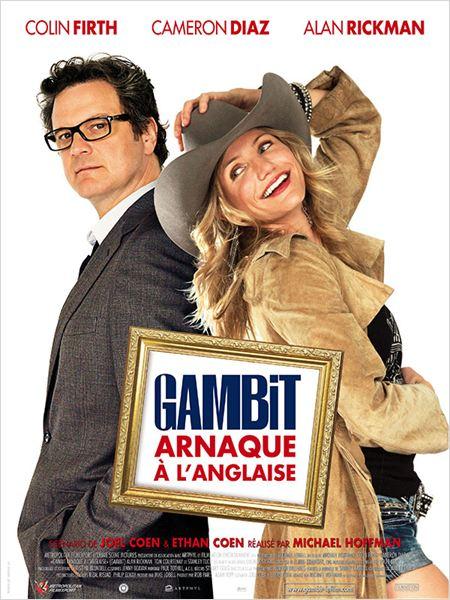 affiche du film Gambit - arnaque à l'anglaise