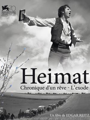 affiche du film HEIMAT : partie 1 - Chronique d'un rêve / partie 2 - L'exode