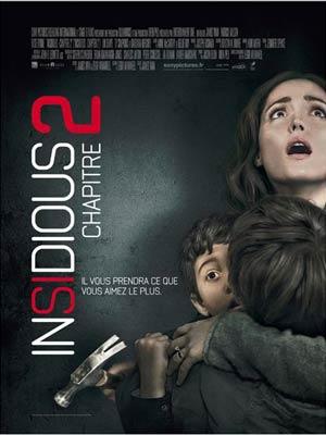 affiche du film Insidious : Chapitre 2