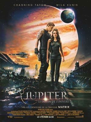 affiche du film Jupiter : Le destin de l'Univers (Jupiter Ascending)