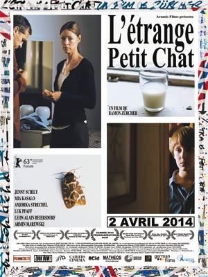 affiche du film L'Etrange petit chat