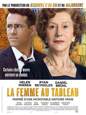 affiche du film La Femme au Tableau (Woman in gold)