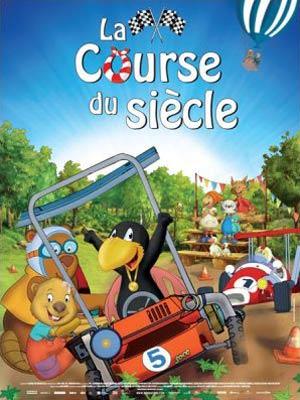 affiche du film La course du siècle (Der kleine rabe socke 2 : das grosse rennen)